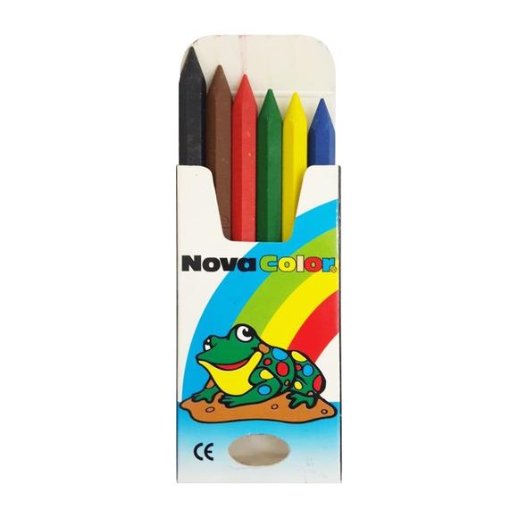 Nova Color Pastel Boya 6 Renk 1/2 NC-1106
