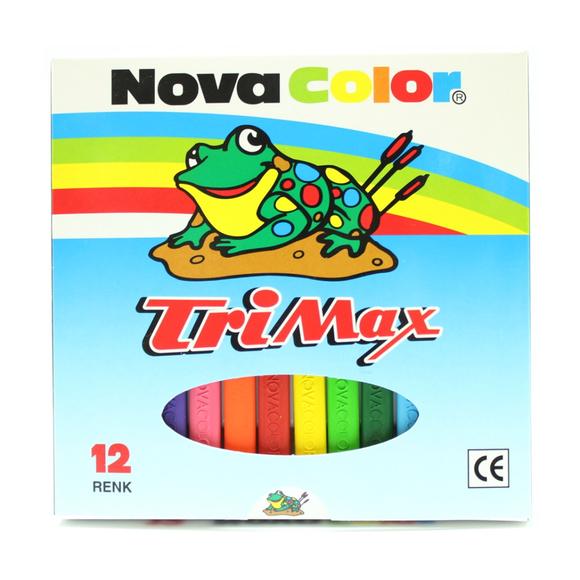 Nova Color Trimax 12 Renk Pastel NC-2117