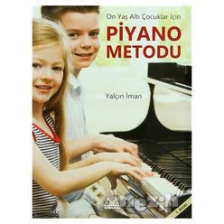 On Yaş Altı Çocuklar İçin Piyano Metodu - Thumbnail