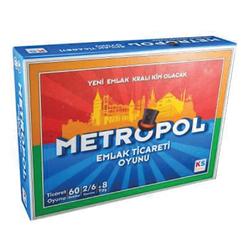 Ks Games Emlak Ticaret Oyunu Metropol - Thumbnail