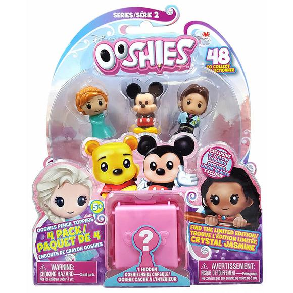Ooshies Disney Mini Figür 4'lü Set 11306