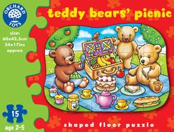 Orchard Ayıcıklar Piknikte 15 Parça Puzzle 226 - Thumbnail