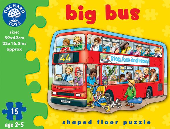 Orchard Büyük Otobüs 15 Parça Puzzle 249