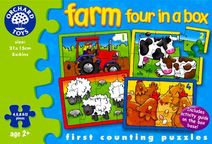 Orchard Çiftlik 4'lü Puzzle 209