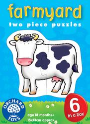 Orchard Çiftlik Hayvanları 6'lı Puzzle 202 - Thumbnail