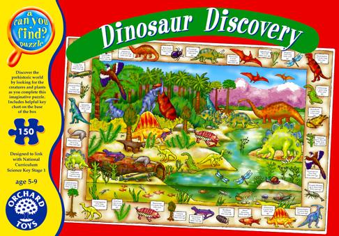 Orchard Dinozor Dünyası 150 Parça Puzzle 272