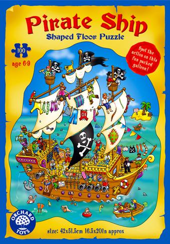 Orchard Korsan Gemisi 100 Parça Puzzle 228