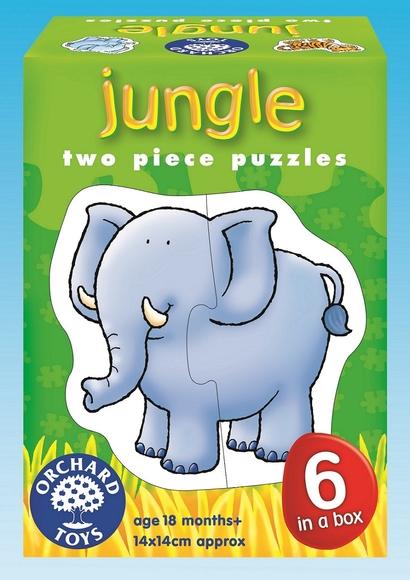 Orchard Orman Hayvanları 6'lı Puzzle 205