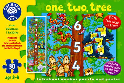 Orchard Sayılar 30 Parça Puzzle 276