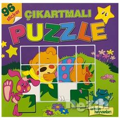 Orman Hayvanları - Çıkartmalı Puzzle - Thumbnail