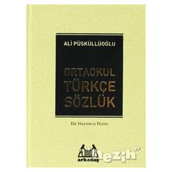 Ortaokul Türkçe Sözlük (6.7. ve 8. Sınıflar İçin) - Thumbnail