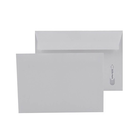 Oyal Kare Zarf Silikonlu Viktoria Beyaz 10'lu 114x162 mm