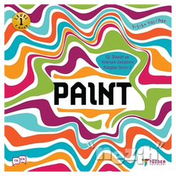 Paint - IQ Dikkat ve Yetenek Geliştiren Kitaplar Serisi 2 (Level 1) - Thumbnail