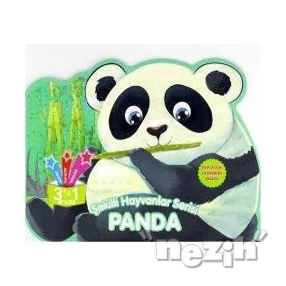Panda - Şekilli Hayvanlar Serisi