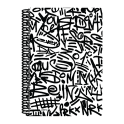 Papirüs Mini Sert Kapak Defter Siyah 100yp 17x24cm Çizgili - Thumbnail