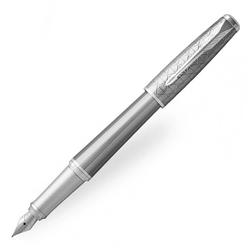 Parker Urban CT Dolma Kalem Premium Gümüş Yaldız Gri 1931603 - Thumbnail