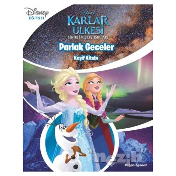 Parlak Geceler - Keşif Kitabı / Disney Karlar Ülkesi