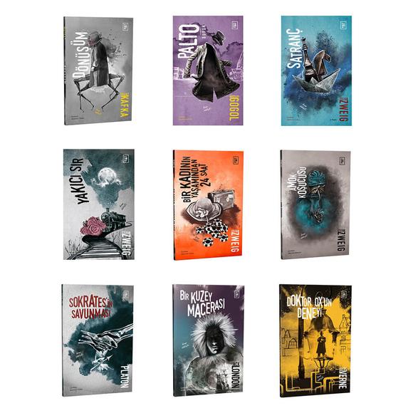 Parodi Modern Klasikler Seti - 9 Kitap