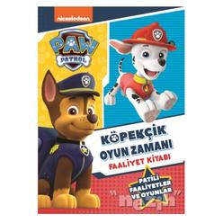 Paw Patrol Köpekçik Oyun Zamanı Faaliyet Kitabı - Thumbnail