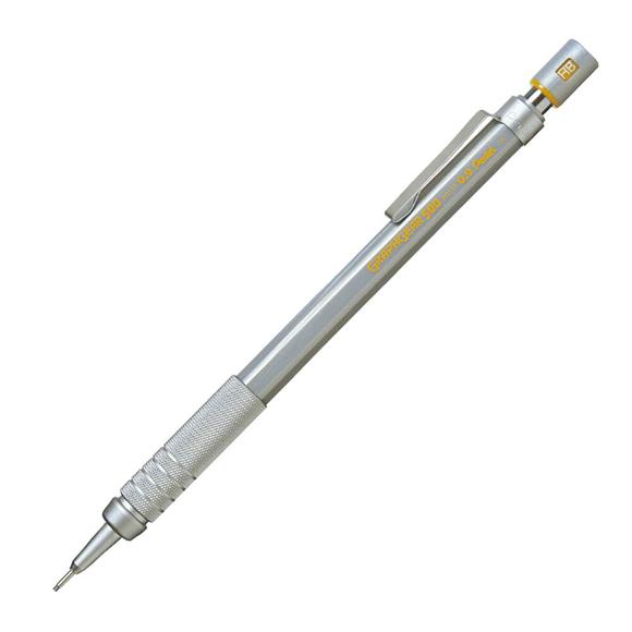 Pentel Graphgear 500 Teknik Çizim Kalemi Gri 0.9 mm PG519