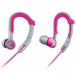 Philips ActionFit Spor Kulakiçi Kulaklık Pembe SHQ3300PK/00 - Thumbnail