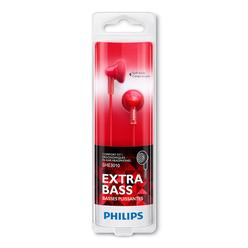 Philips Colorwave Ear-Bud Kulaklık Kırmızı SHE3010RD/00 - Thumbnail