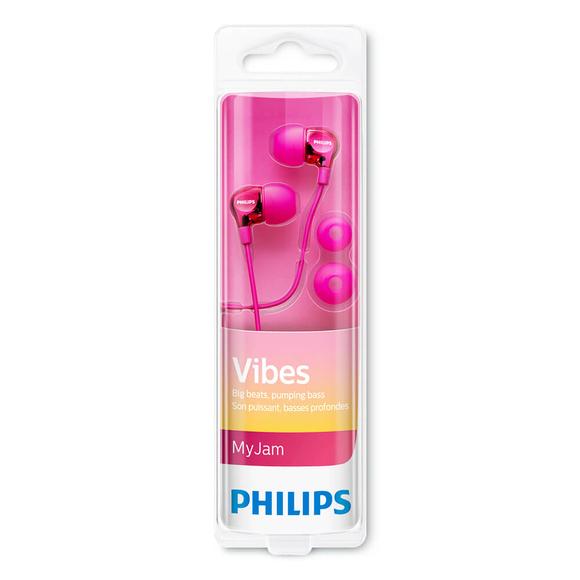 Philips Kulakiçi Kulaklık Metalik Pembe SHE3700PK/00