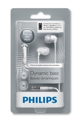 Philips Mikrofonlu Kulakiçi Kulaklık Beyaz SHE3595WT - Thumbnail