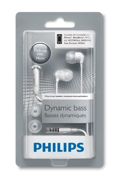 Philips Mikrofonlu Kulakiçi Kulaklık Beyaz SHE3595WT