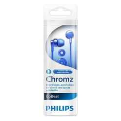 Philips Mikrofonlu Kulakiçi Kulaklık Mavi SHE3855BL/00 - Thumbnail