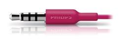 Philips Mikrofonlu Kulakiçi Kulaklık Pembe SHE3595PK - Thumbnail