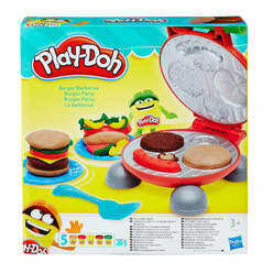 Play-Doh Burger Seti B5521 - Thumbnail