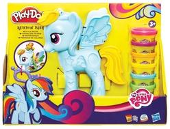 Play-Doh Rainbow Dash Saç Stüdyosu B0011 - Thumbnail