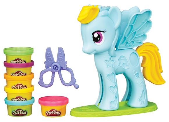 Play-Doh Rainbow Dash Saç Stüdyosu B0011