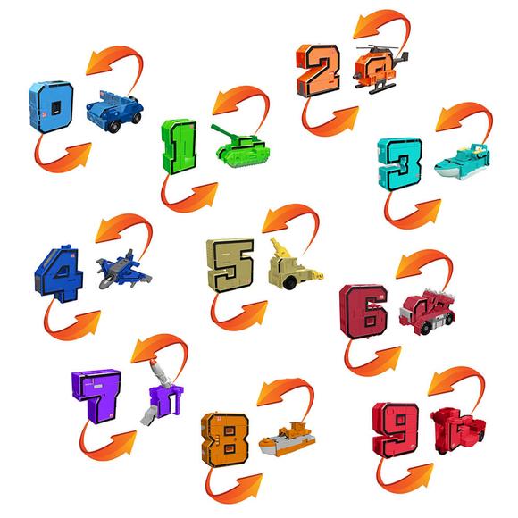 Pocket Morphers Dönüşebilen Numaralar 6888