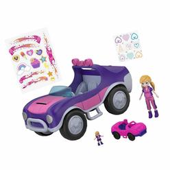 Polly Pocket ve Arabası Oyun Seti FWY26 - Thumbnail