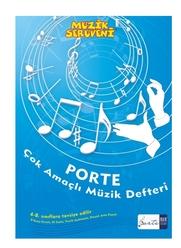 Porte Çok Amaçlı Müzik Defteri 5-8 Sınıflar - Thumbnail
