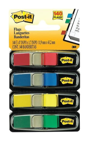Post-it Index 4 Neon Renk x 35 Adet 683-4