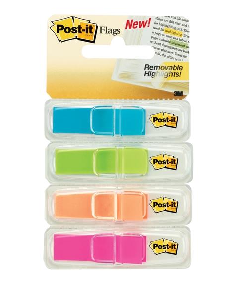 Post-it Index Beyaz Dispanserli 4 Renk x 35 Adet 683-4ABX