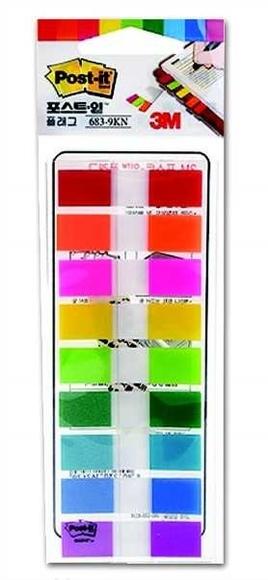 Post-it Index Sayfa İşareti 9 Renk x 20 Adet 683-9KN