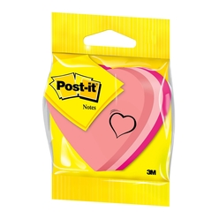 Post-it Kalp Şekilli Not 3 Renk 225 Yaprak 2007H - Thumbnail