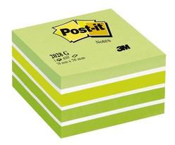 Post-it Küp Not 450 Yaprak 76x76 mm Yeşil Tonları 2028-G - Thumbnail