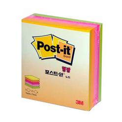 Post-it Küp Notlar Yapışkanlı Not Kağıdı Neon Renkler 225 Yaprak 76X76 mm NEOKUP33 - Thumbnail