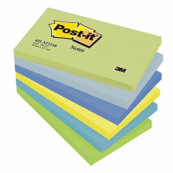 Post-it Mint Yapışkanlı Not Kağıdı 76x127 mm 655-MTDR