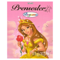 Prensesler Boyama Kitabı - 3 - Thumbnail