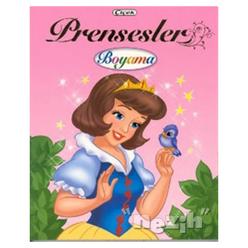 Prensesler Boyama Kitabı - 4 - Thumbnail