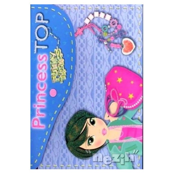 Princess Top Funny - Things (Mavi)