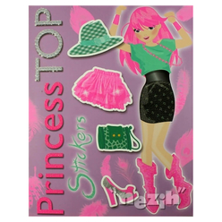 Princess Top Stickers (Lila) - Thumbnail