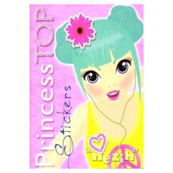 Princess Top Stickers (Pembe Sarı)