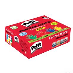 Pritt Parmak Boyası 50 ml 4 Renk - Thumbnail